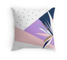 Strelitzia Polka Dot Throw Pillow