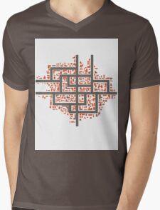 City maps Mens V-Neck T-Shirt