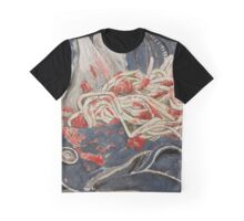Spaghetti bolognese on jeans Graphic T-Shirt