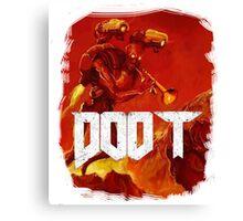 Doom, Doot Canvas Print