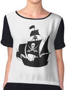 pirate ship Chiffon Top