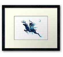 Elf Archer Framed Print