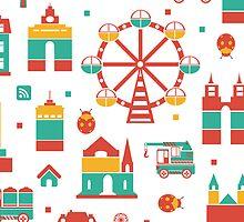 Ferris wheel by Alexzel