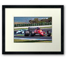 Ferrari at Phillip Island Framed Print