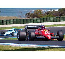 Ferrari at Phillip Island Photographic Print