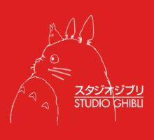Studio Ghibli Inspired Totoro One Piece - Long Sleeve
