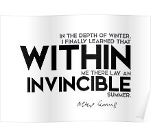 within: an invincible summer Poster
