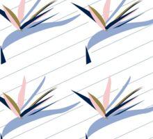 Strelitzia Stripe Repeat Sticker