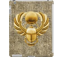 Gold Egyptian Scarab iPad Case/Skin