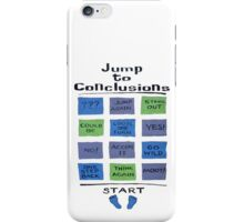 Jump to Conclusions iPhone Case/Skin