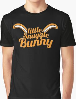 Little Snuggle Bunny rabbit awesome baby design Graphic T-Shirt