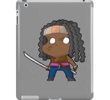 TWD Michonne chibi iPad Case/Skin