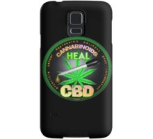 CBD Cannabinoids in Hemp oil Cures  learn truth about use of hemp oil to cure illness and pains. Samsung Galaxy Case/Skin