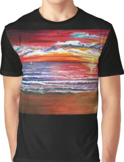 Magical Sunset  Graphic T-Shirt