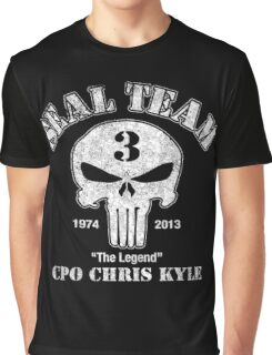 US Sniper Chris Kyle American Legend Graphic T-Shirt