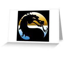Mortal Kombat Greeting Card