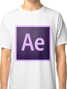 After Effects Icon Classic T-Shirt