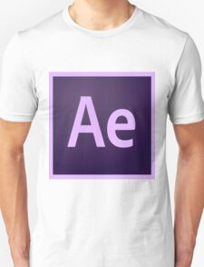 After Effects Icon Unisex T-Shirt