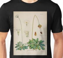 The botany of the Antarctic voyage of H M  discovery ships Erebus and Terror in the Years 1839 1843 Joseph Dalton Hooker V1 107 Unisex T-Shirt