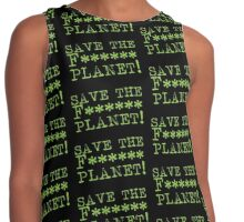 SAVE THE F****** Planet Contrast Tank