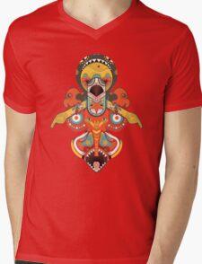 Totem Pole Mens V-Neck T-Shirt