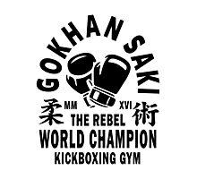 Gokhan Saki Kickboxing Gym Photographic Print