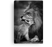 Love you dad Canvas Print