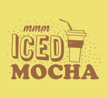 mmm ICED mocha Baby Tee