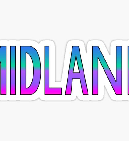 Midland Sticker
