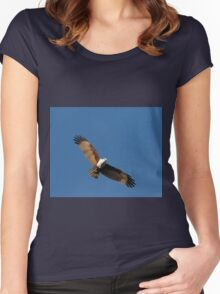 Stationary Hover Women's Fitted Scoop T-Shirt
