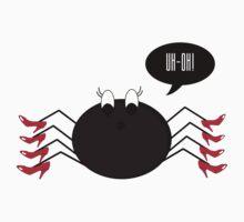 Spider Wearing Heels One Piece - Long Sleeve