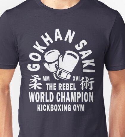Gokhan Saki Kickboxing Gym Unisex T-Shirt