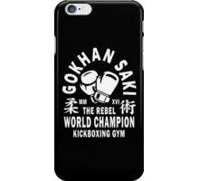 Gokhan Saki Kickboxing Gym iPhone Case/Skin