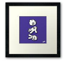 Roshambo Hands Framed Print