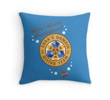 Silver Scales Invitational Throw Pillow