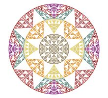 Mandala I Photographic Print