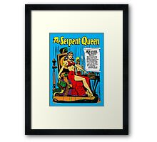 The Serpent Queen Framed Print