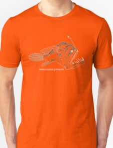 Anglerfish - Dark Background Unisex T-Shirt