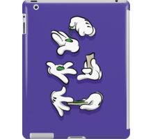 Weed Time Hands iPad Case/Skin