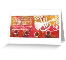 Island Divas Greeting Card