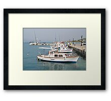 Agistri island, Greece Framed Print