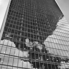 Black and White Walkie-Talkie, London by flashcompact