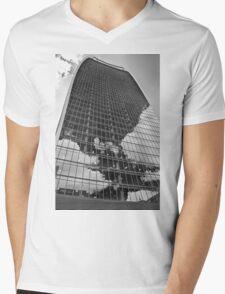 Black and White Walkie-Talkie, London Mens V-Neck T-Shirt