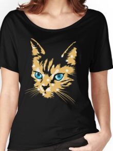 POP ART CAT Women's Relaxed Fit T-Shirt