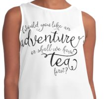 Adventure or tea? Contrast Tank