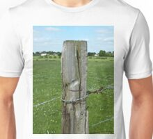 Old Fence Post, Dorchester, England Unisex T-Shirt