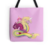 Lady and Peebles Tote Bag