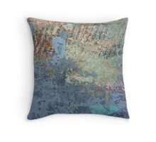 Bribie Island Abstract #4 Throw Pillow