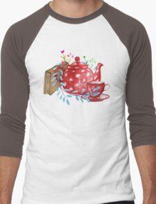 Tea  Men's Baseball ¾ T-Shirt