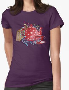 Tea  Womens Fitted T-Shirt